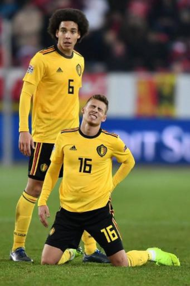 Le Borussia Dortmund pourra compter sur Thorgan Hazard et Axel Witsel contre Leverkusen