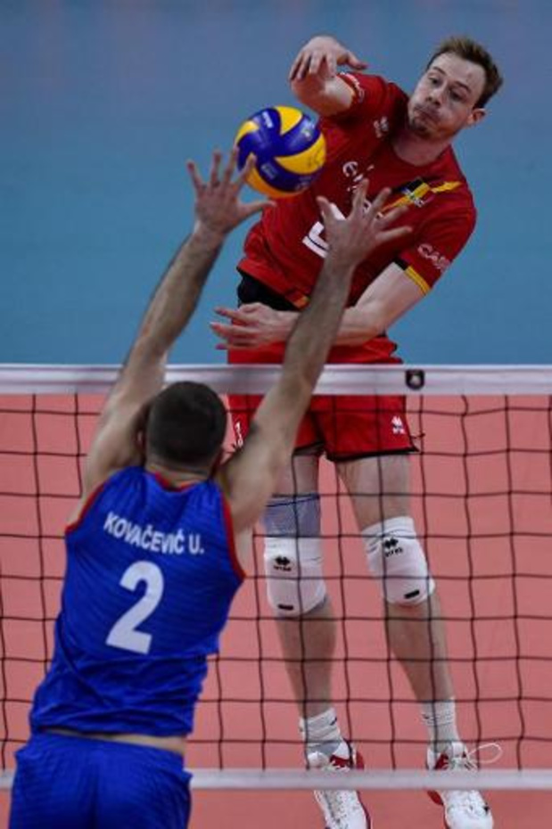 EK volley (m) - Red Dragons treffen Oekraïne in achtste finales