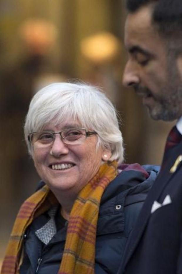 Une indépendantiste catalane menacée d'extradition entendue en Ecosse et libérée