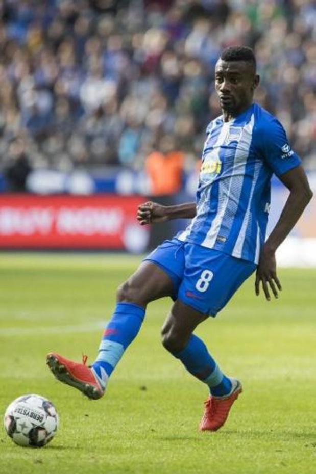 Salomon Kalou suspendu par le Hertha Berlin