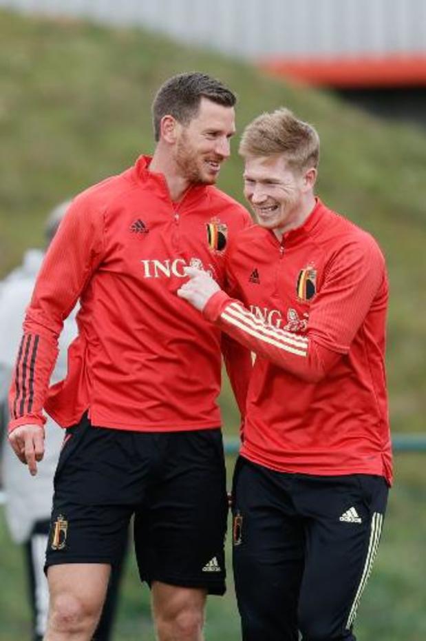 """Tous les Diables Rouges """"sont aptes"""" à jouer contre le Danemark"""