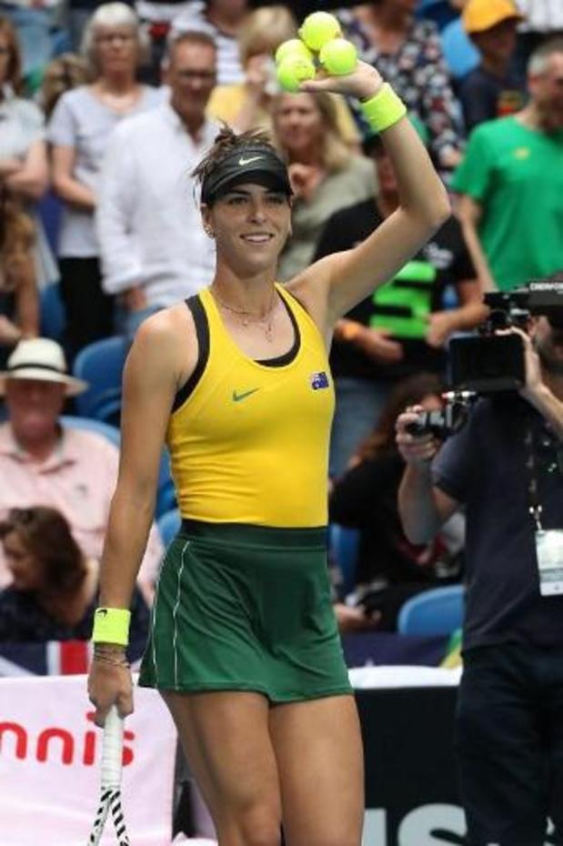 Dubbelspel moet voor beslissing zorgen in finale Fed Cup tussen Australië en Frankrijk