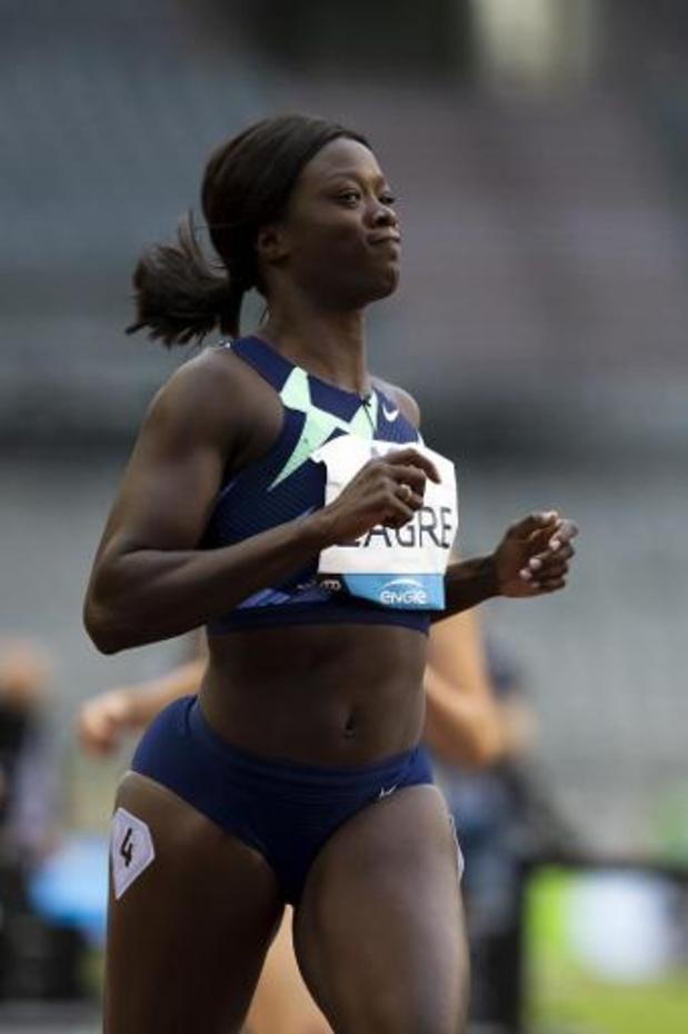 Anne Zagré remporte le 100 m haies en 13.21
