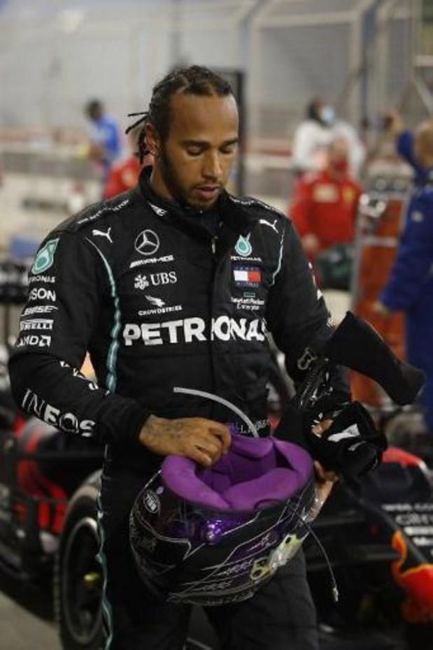 Lewis Hamilton testé positif au Covid-19 et forfait pour le GP de Sakhir