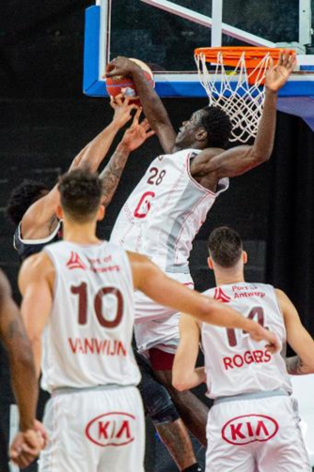 Anvers s'incline 89-81 à Bandirma lors de la Ligue des Champions de basket