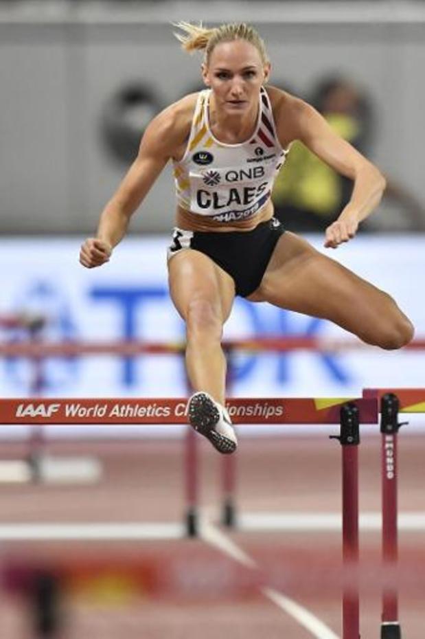 """WK atletiek - Hanne Claes strandt in halve finales: """"Heel tevreden met mijn chrono"""""""