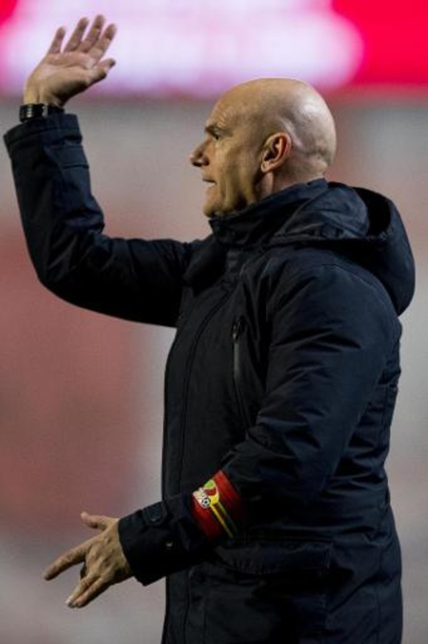Ostende se sépare de son entraîneur Dennis Van Wijk