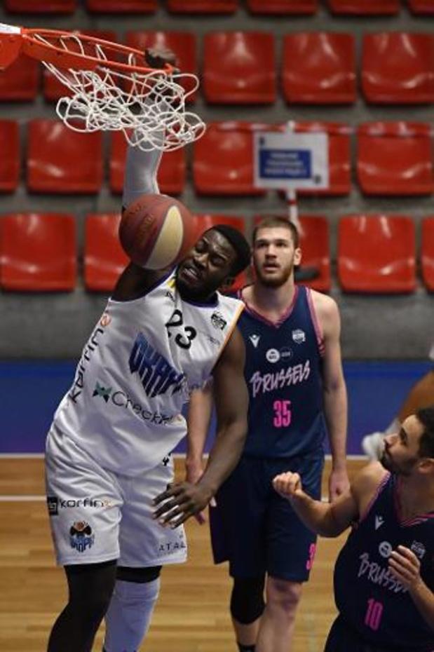 Coupe de Belgique de basket (m) - Nathan Kuta offre la victoire à Alost au buzzer face à Mons