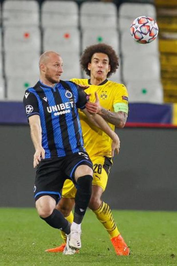 Les Brugeois avec Krmencik et Balanta au coup d'envoi, Witsel sur le banc de Dortmund