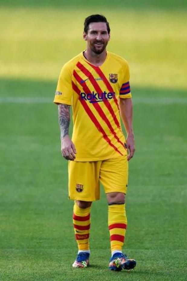 La Liga - Barcelona wint, met Messi als kapitein, eerste oefenmatch van het seizoen