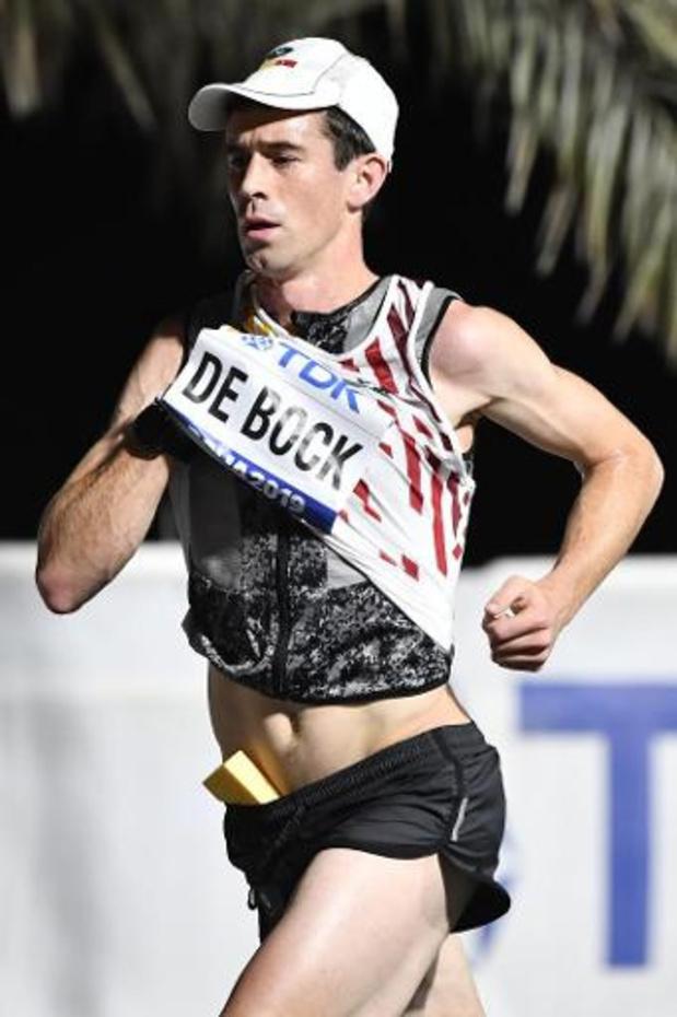 WK atletiek - Thomas De Bock eindigt op 42ste plaats in marathon voor mannen