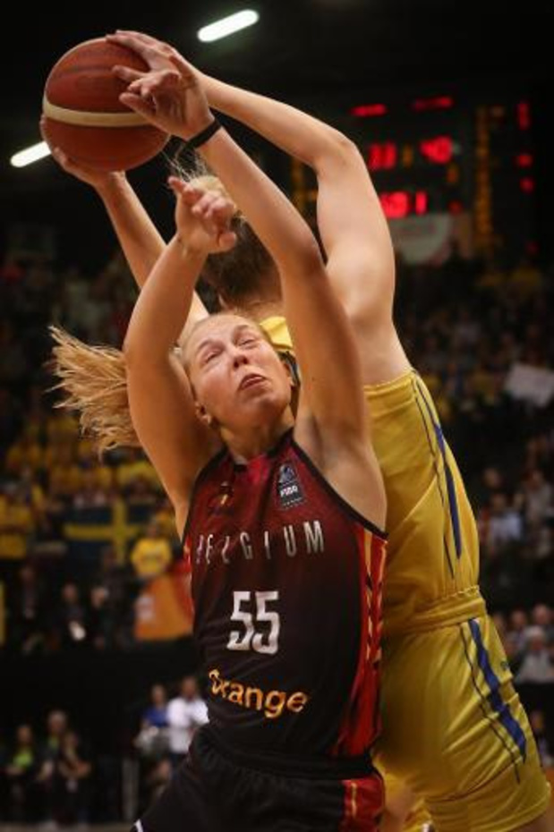 Julie Allemand sluit fantastisch debuutseizoen af met 11 punten en 9 assists