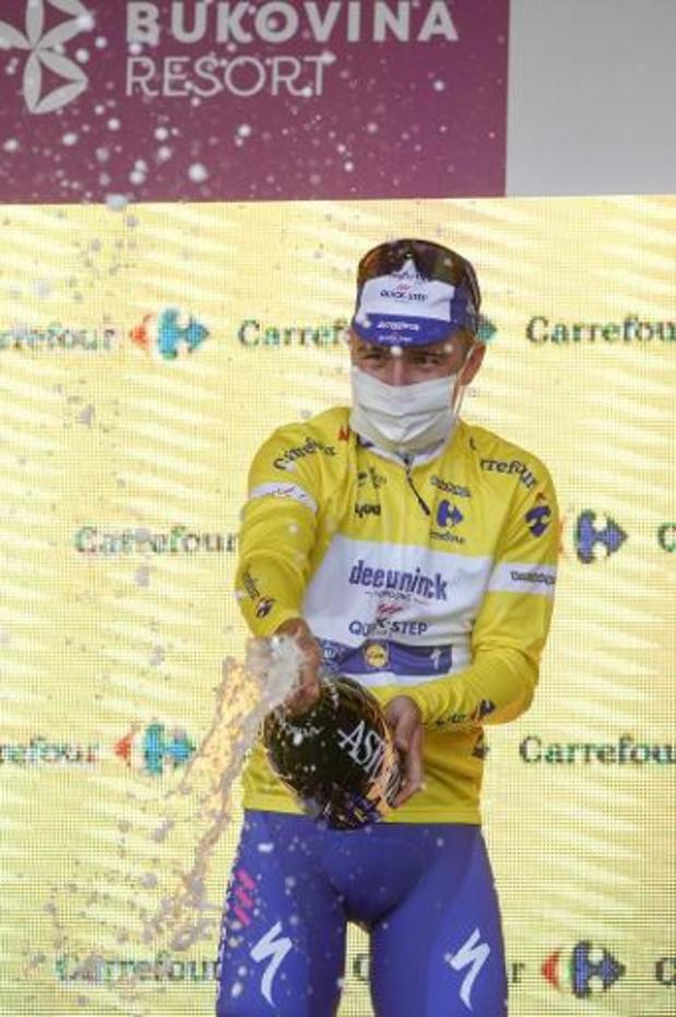 Tour de Pologne - Remco Evenepoel remporte le 77e Tour de Pologne dont la 5e étape revient à Ballerini