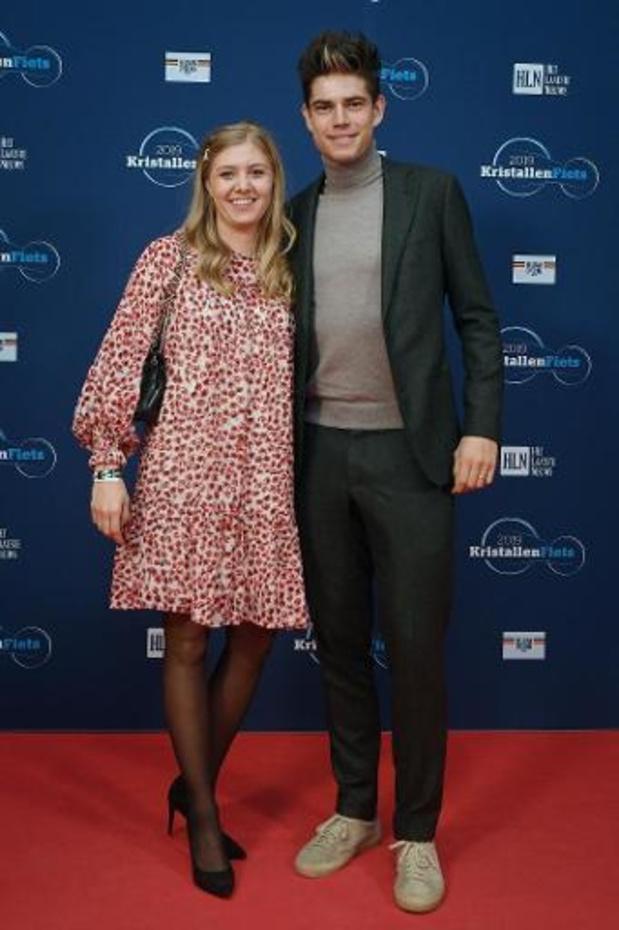 Wout van Aert en zijn vrouw Sarah verwachten eerste kindje