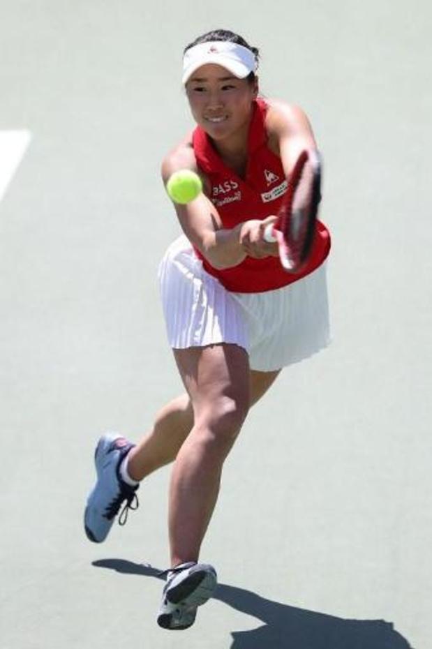 WTA Hiroshima - Japanse Hibino steekt tweede titel op zak
