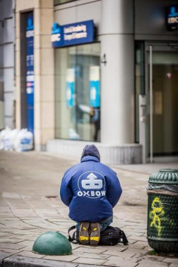 La Ligue des droits humains dénonce les arrêtés anti-mendicité en Belgique
