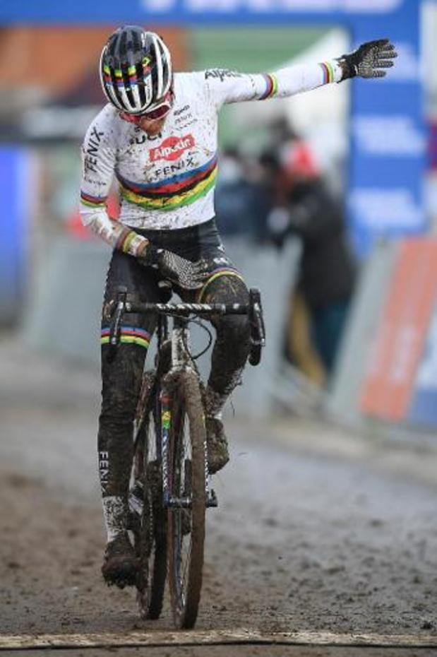 Championnats du monde de cyclocross - Mathieu van der Poel et Ceylin del Carmen Alvarado défendront leur titre à Ostende