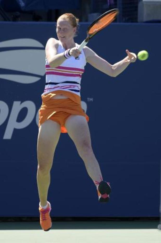 """Alison Van Uytvanck victorieuse en finale: """"j'en tremble encore après la balle de match"""""""