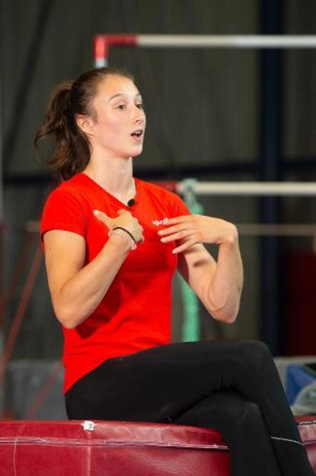 Nina Derwael peut à nouveau s'entraîner après un contact à risque