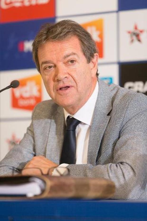 AA Gent-manager Michel Louwagie vandaag verhoord