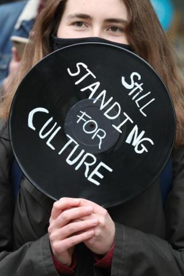 Culturele sector laat zaterdag stem opnieuw horen