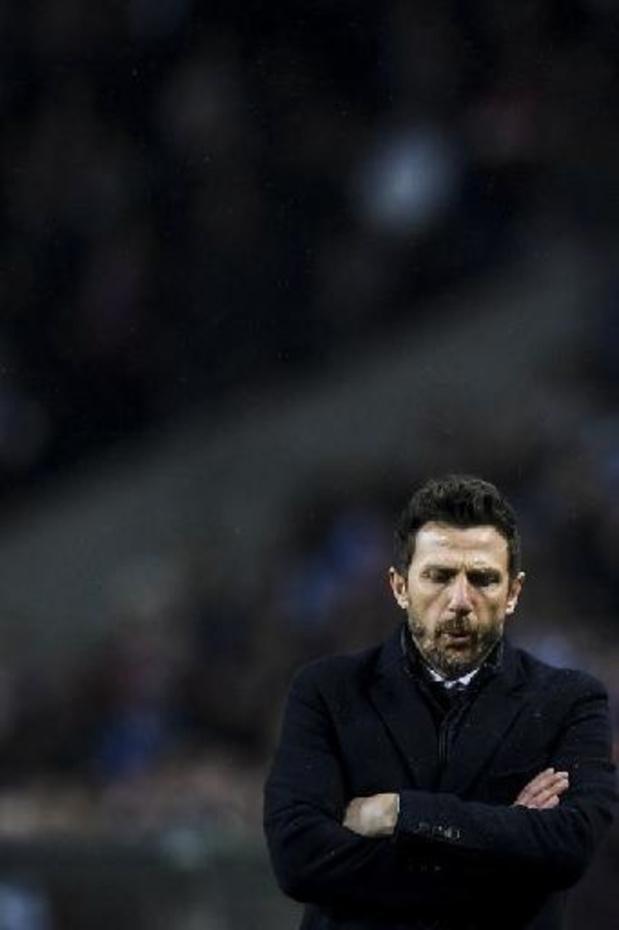 Di Francesco écarté de Vérone après seulement trois matches