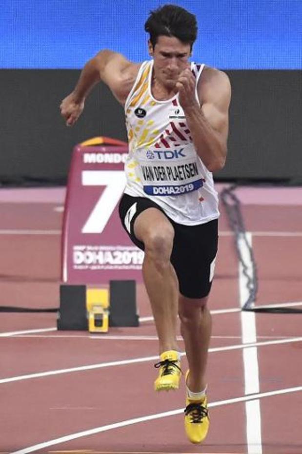 Mondiaux d'athlétisme - Thomas Van der Plaetsen est 19e à l'issue de la 1re journée
