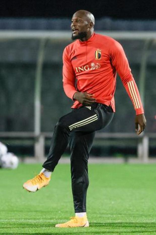 Diables Rouges - Romelu Lukaku est bien titularisé contre l'Angleterre, pas de surprise dans le onze