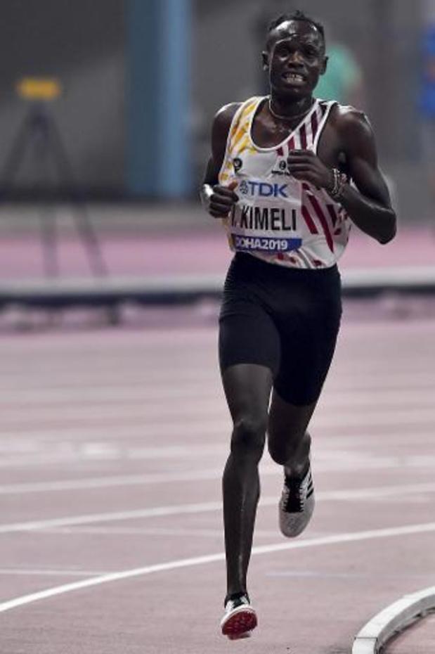 """WK atletiek - Isaac Kimeli na veertiende plaats in finale 5.000m: """"Het ging heel erg snel"""""""