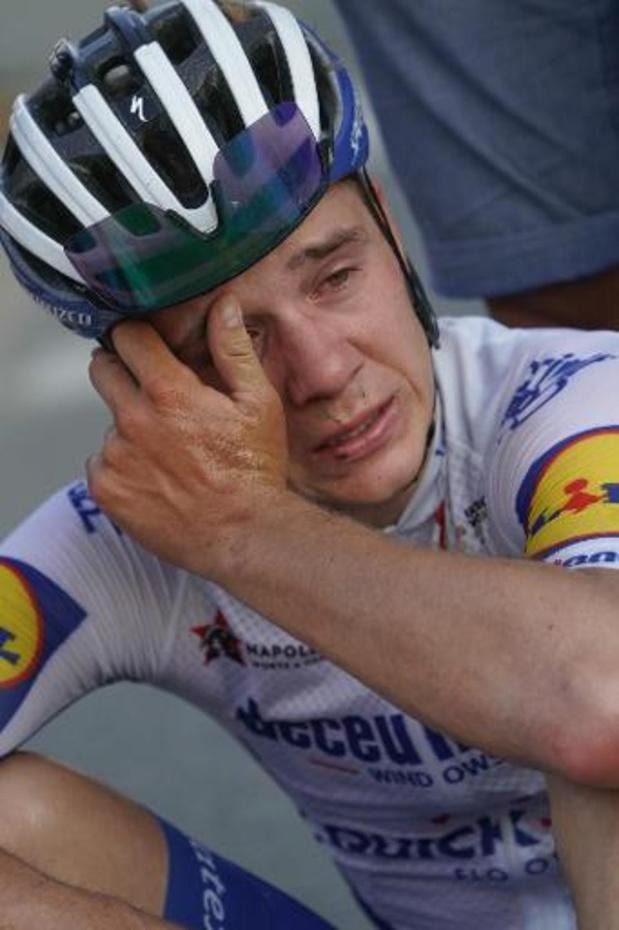"""Ronde van Polen - Evenepoel: """"Belangrijkste overwinning deze week is die van Fabio"""""""