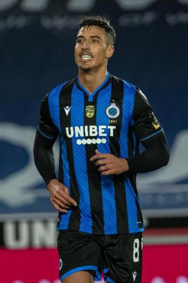 Le Club Bruges avec Nabil Dirar dans l'entrejeu à Kiev