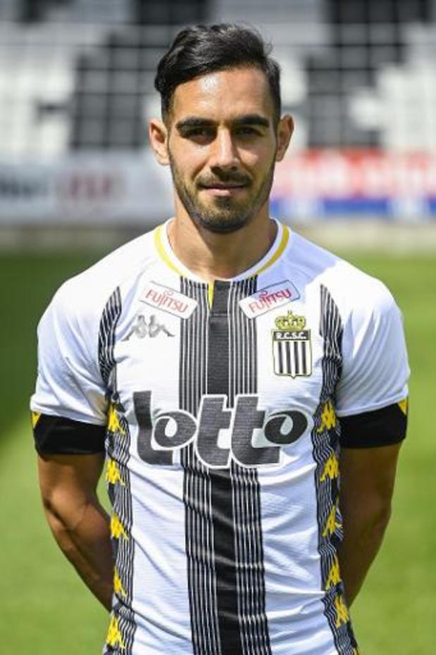 Stergos Marinos quitte Charleroi