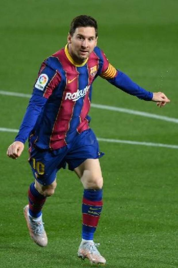 La Liga - Barcelona blijft in spoor van Atlético en Real na zege tegen Getafe