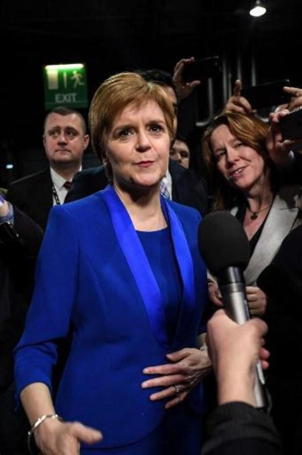 Britse verkiezingen - Sturgeon legt tweede referendum over Schotse onafhankelijkheid definitief terug op tafel