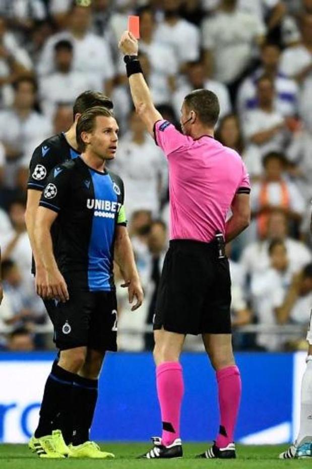 L'UEFA rejette l'appel du Club Bruges: Vormer suspendu contre Galatasaray