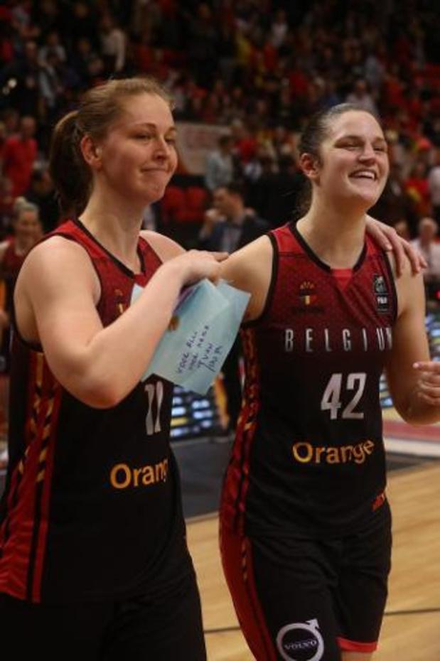 Kwal. EK 2021 basket (v) - Belgian Cats met perfect rapport naar EK