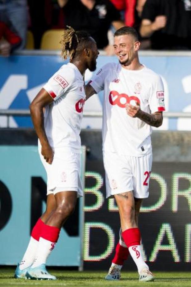 Jupiler Pro League - Le Standard repousse Ostende à 5 points grâce à quatre buts dont un doublé de Lestienne