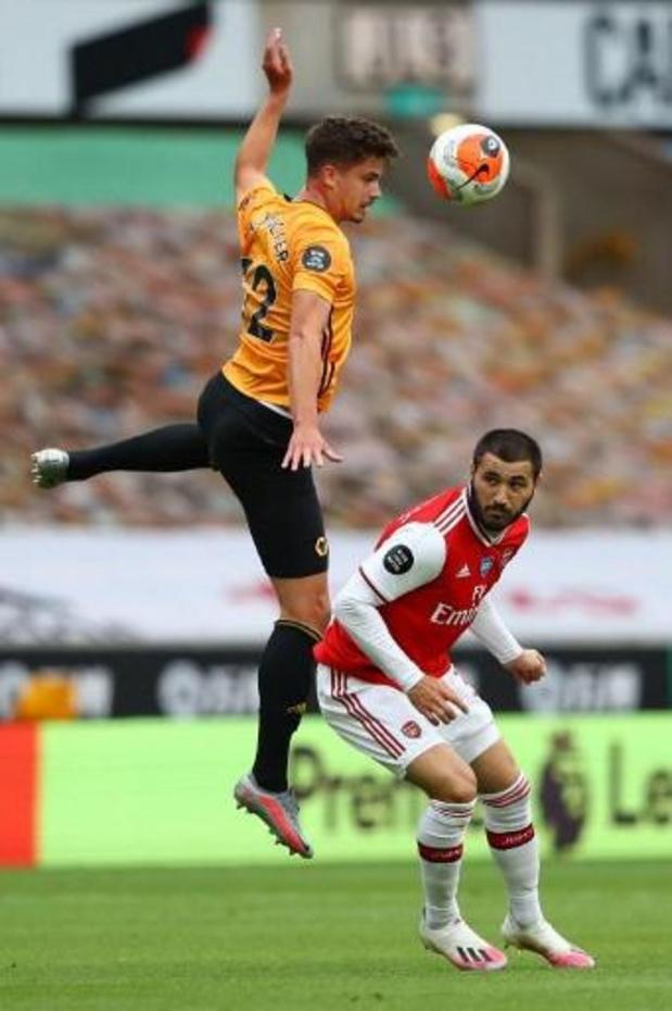 Les Belges à l'étranger - Les Wolves, avec Dendoncker, s'inclinent à domicile devant Arsenal et manquent le coche