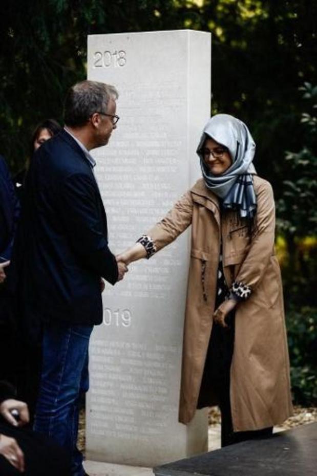 La fiancée de Khashoggi appelle le G20 à agir pour la liberté de la presse