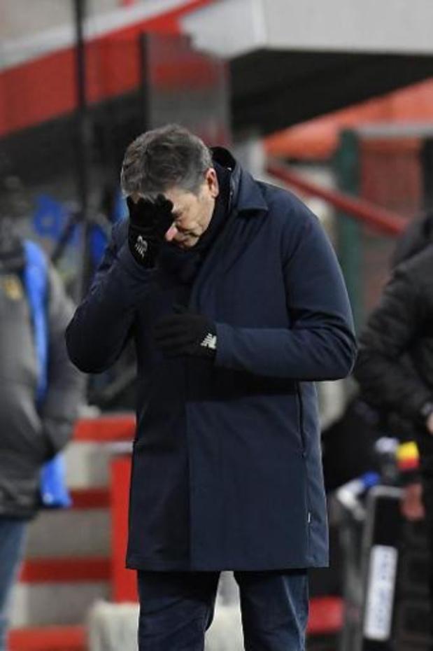 Jupiler Pro League - Philippe Montanier n'est plus l'entraîneur du Standard, annonce Alexandre Grosjean