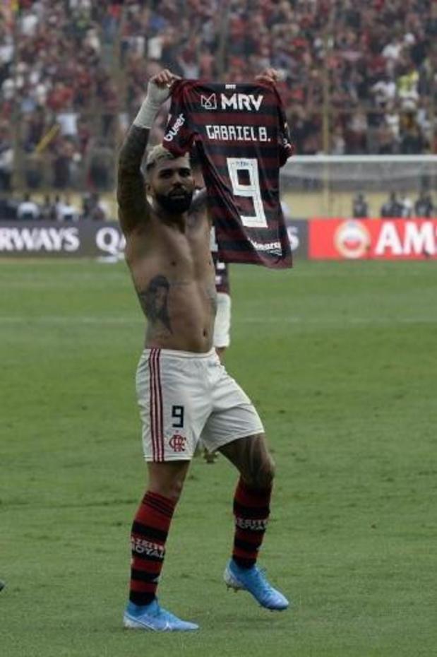 Copa Libertadores - Flamengo pakt Copa Libertadores in slotminuten