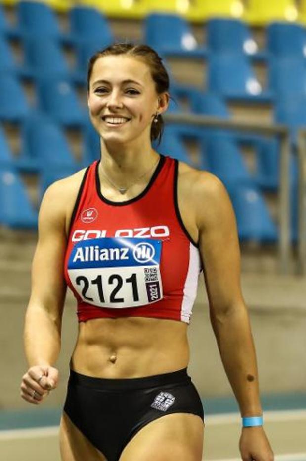 EK atletiek indoor - Rani Rosius opent sterk in Gent en komt in de buurt van persoonlijk record en EK-limiet