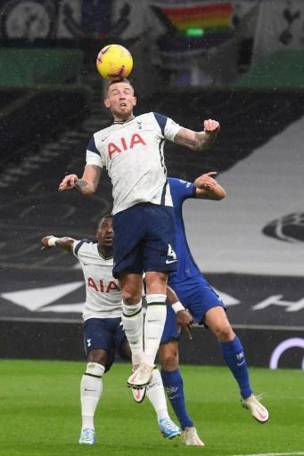 Les Belges à l'étranger - Tottenham et Alderweireld, battus Chelsea, encaissent un troisième revers de rang