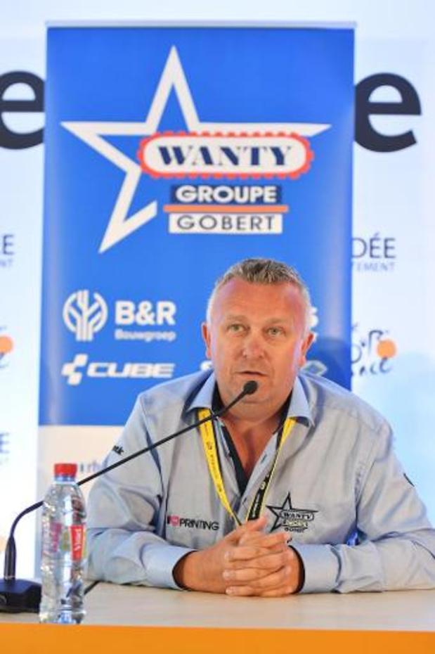 """Pas de 4e Tour pour Circus-Wanty Gobert: """"Ce ne fut pas une décision facile à entendre"""""""