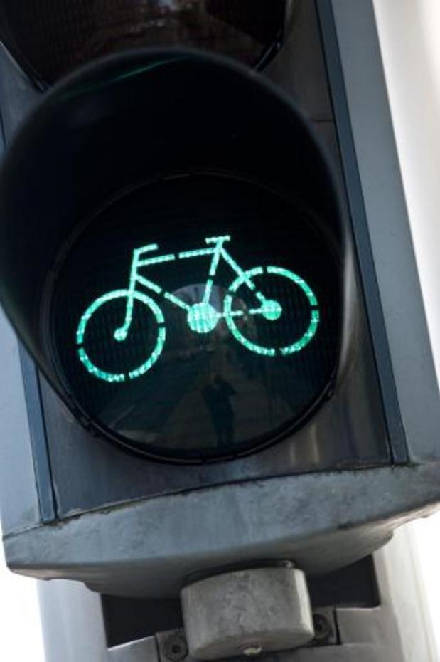 La Flandre va installer des feux de signalisation pour vélos