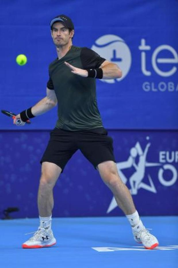 """European Open - """"Mon niveau de forme va dans la bonne direction"""", se réjouit Murray"""