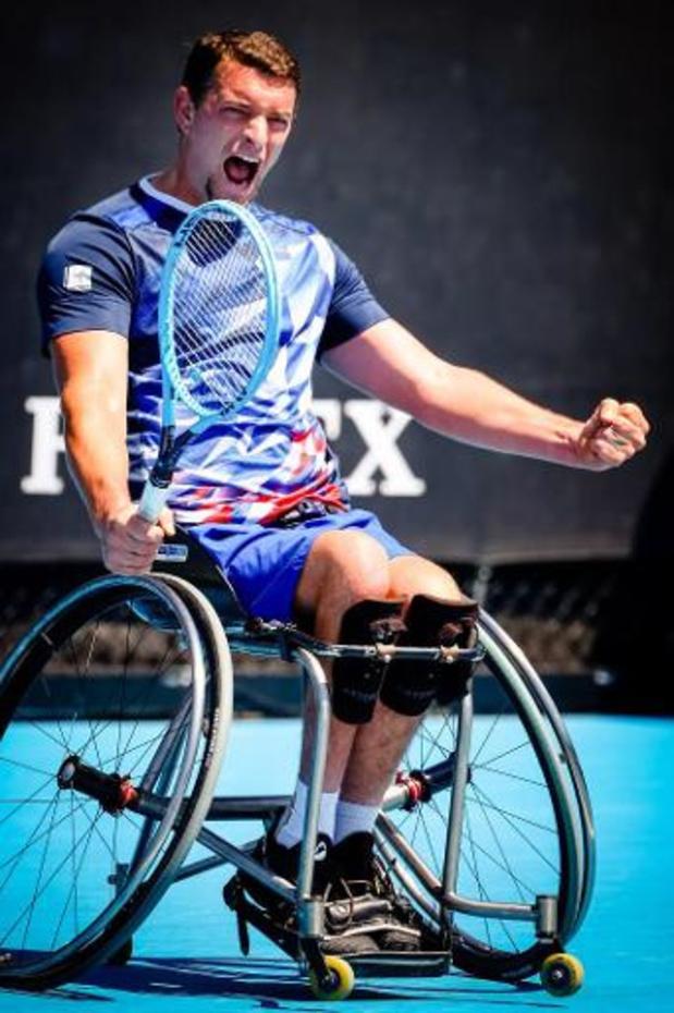 Open d'Australie - Un premier titre en Grand Chelem en simple pour Joachim Gérard, victorieux à Melbourne