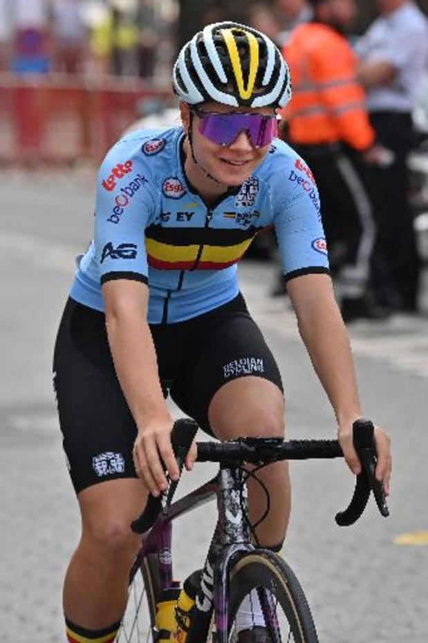 """Lotte Kopecky: """"Je m'attendais à mieux qu'une 16e place"""""""