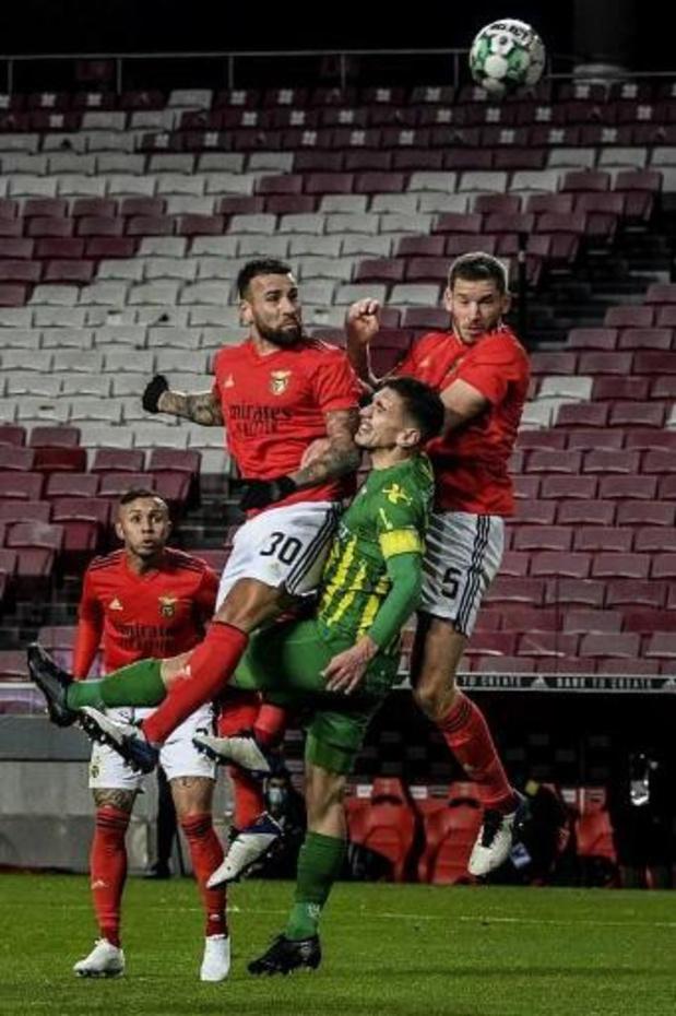 Les Belges à l'étranger - Benfica et Vertonghen battent Tondela et se hissent en deuxième position
