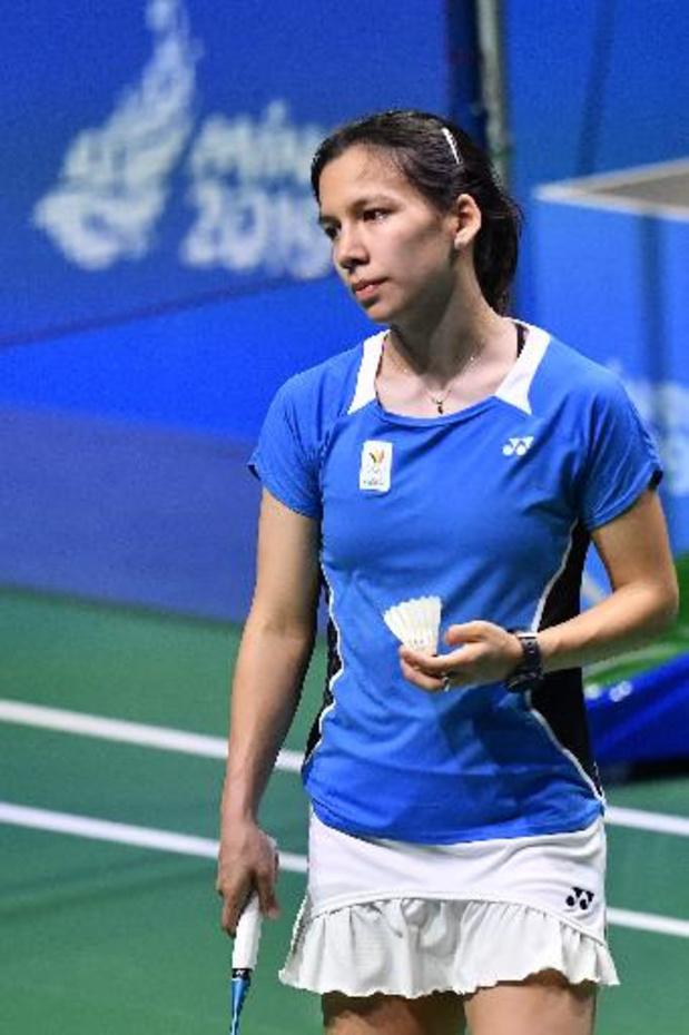 Lianne Tan éliminée en quarts de finale